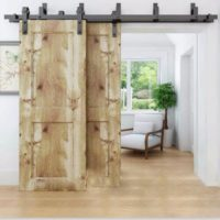interior barn door hardware kit